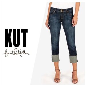 Kut from the Kloth Cameron Cuffed Straight Leg 2